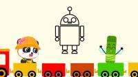 神奇简笔画 第2季之机器人