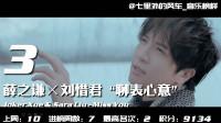 中国大陆华语音乐流行榜第105期,薛之谦三甲占据两席超强势