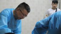 法医刘良:3人完成2例病理解剖 病理报告最快需10日