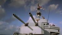 潜艇硬核对战驱逐舰,最后一枚鱼雷打中驱逐舰,漂亮