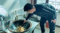 杨树林解锁小鸡炖蘑菇的正确吃法,看着就流口水! 好好吃饭 20200217