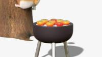 短腿小柯基:这个烤柿, 磨炼了多少人