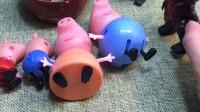 怪兽抓了四只小猪,要把他们吃了,结果他们偷偷跑了!