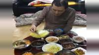 中国女人嫁到韩国农村,婆婆家早饭午饭一起吃,竟全是泡菜!