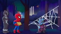 蜘蛛侠好厉害,连星云都被他困在了蜘蛛网上