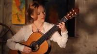 白俄罗斯古典吉他女神独奏《肖邦圆舞曲》