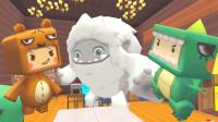迷你世界:熊孩子喜欢搞发明,小肥龙爱睡觉,大毛的兴趣爱好是啥呢?