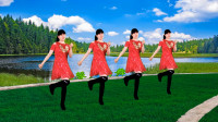 广场舞《九寨沟的春天》一首欢歌一支舞,轻松入门十六步,送给你