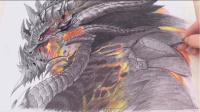 【碳笔临摹】 魔兽世界——游戏中的龙族