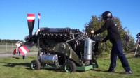 机械推动了人类文明:12缸、2490hp发动机启动过程