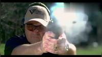 弹壳飞出,手枪射击,慢镜头看细节-电影-高清