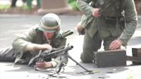 """传说中的二战""""撕布机""""德国MG42通用机枪,老外"""