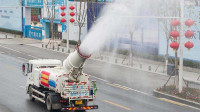 武汉实施城市下水道消毒,投放消毒药剂1963.58吨