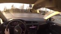 大众Tiguan驾驶体验, 国外不减配版本还是很棒的!