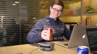荷兰创意团队发明冷却杯,10分钟冷却杯中水,随时随地喝冰阔乐!
