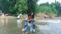 单身男人去缅甸三个月,背了一个缅甸老婆回家,就服你了!