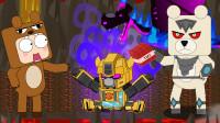迷你世界格斗动画第282集:熊孩子拿TNT炸弹不炸黑龙炸大黄蜂干什么