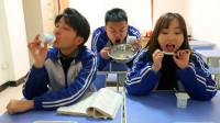 酸奶考试中,学渣因为没舔酸奶盖考了0分!真逗!