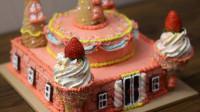 十二星座专属的生日蛋糕,水瓶座的是浪漫的彩虹城堡
