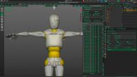 blenderCN-[键盘雀跃]MCH骨骼(组)的建立及颈部跟随和头部跟随