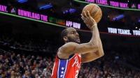将比赛拖入高潮!博克斯再次命中中距离拿到主导权 NBA 19/20赛季 常规赛 布鲁克林篮网VS费城76人 1