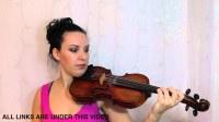 吉普赛人爱 小提琴讲解 对于完成初学者【1】