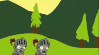 植物大战僵尸:僵尸王现身,豌豆射手火力全开发起进攻