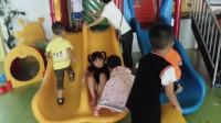 亲子互动游戏-幼儿园01-儿童游乐园 滑滑梯 亲子萌宝 儿童游戏 育儿 儿童玩具车