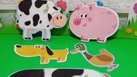 妈妈的宝宝和妈妈走了,小牛、鸭子和妈妈走了,猪宝宝的妈妈呢?