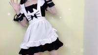 兔耳睡衣小姐姐换装,变身制服仙女,网友:我酸了!