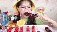 小可爱直播吃彩色藕片糖、小鞋子果冻,是我童年向往的生活