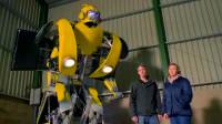 牛人创意:小伙打造真正的变形金刚大黄蜂!