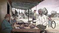 老头买蝙蝠肉回家炖汤,不慎将蝙蝠血揉进眼睛,连累整个村子遭殃