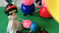 少儿益智玩具:白雪公主救佩奇一家