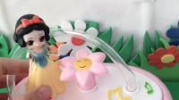 少儿益智玩具:白雪公主可真有办法