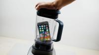 将iPhone放榨汁机里会怎样?启动开关的那一刻,才是震撼的开始!
