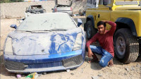 迪拜的垃圾水有多深?外国小伙来到迪拜测试,进入垃圾场后傻眼了