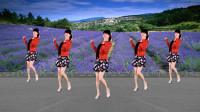 广场舞《花开的时候你就来看我》32步,动感又欢快,美美地跳起来