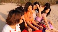 河边偶遇六个缅甸美女,问她们谁年纪最大,她们的回答太搞笑了