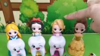 少儿益智玩具:贝儿不让王后检查牙齿