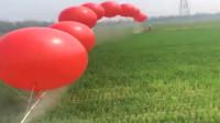 几万块的飞机被几个气球搞定了,这就是智慧,发明者真是太有才了