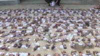 江西一村民非法收购471只野生动物 家中院子摆满地