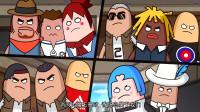 搞笑吃鸡动画:霸哥为了制裁大魔王非法组队,即使这样大魔王也是无敌的