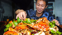 让海南小伙上瘾的香辣膏蟹,原来要这样下锅,吃起来才会肉汁饱满
