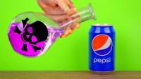 罐装可乐连浓硫酸都不怕?看完才知道百事可乐用料有多良心!