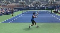 【网球训练】你的男神已上线!迪米特洛夫打球真的帅