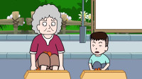 屁登居然和奶奶一起抢桔子,结局很温馨!