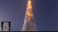从大海里发射大火箭,超震撼