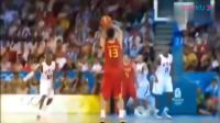 回看2008年北京奥运会中国男篮vs美国男篮精华视频!让人热血沸腾