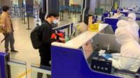 韩国首尔飞南京航班发现3名发热乘客,94名旅客被隔